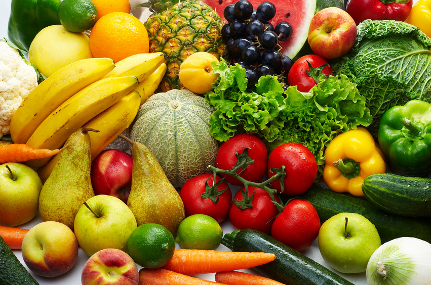 most healthy vegetables and fruits all fruit diet