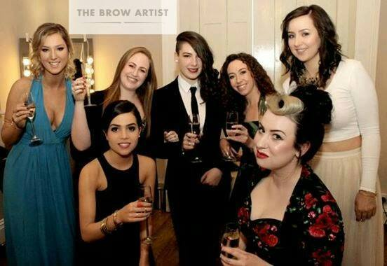 The Brow Artist team